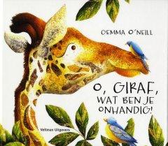 O, Giraf, wat ben je onhandig